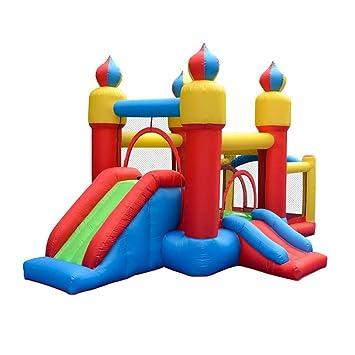 Amazon.com: Castillo hinchable para niños con cama elástica ...