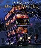 capa de Harry Potter e o Prisioneiro de Azkaban - Ilustrado