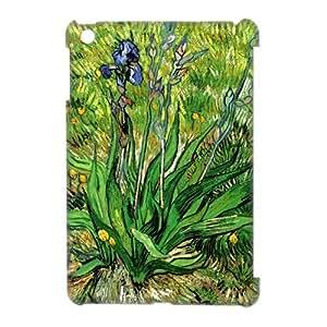 Painting Irises by Van Gogh Custom Case Cover for Retina iPad Mini (iPad mini 2) 3D