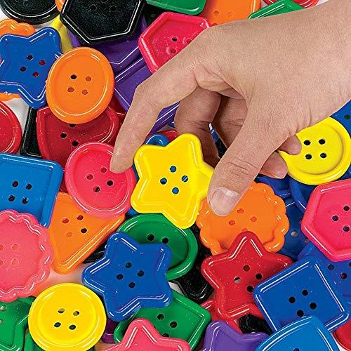 Shape Plastic Buttons - 2