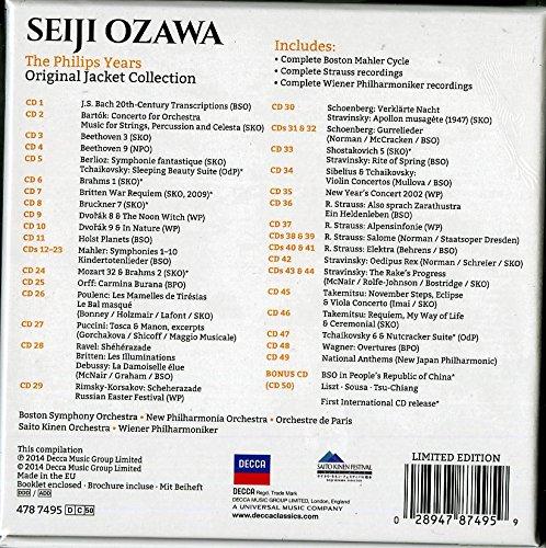 Seiji Ozawa - The Philips Years [50 CD] by Decca (Image #1)