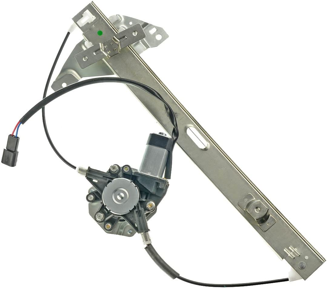 A-Premium Power Window Regulator with Motor Replacement for Chevrolet Impala 2006-2013 Impala Limited 2014-2016 Rear Right Passenger Side