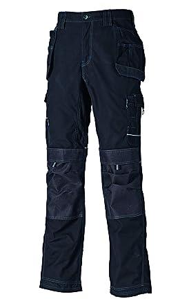 Dickies EH30050 BK 28R - Pantalones «Eisenhower Max» de color negro, talla 42, 36 Tall, Negro, 1