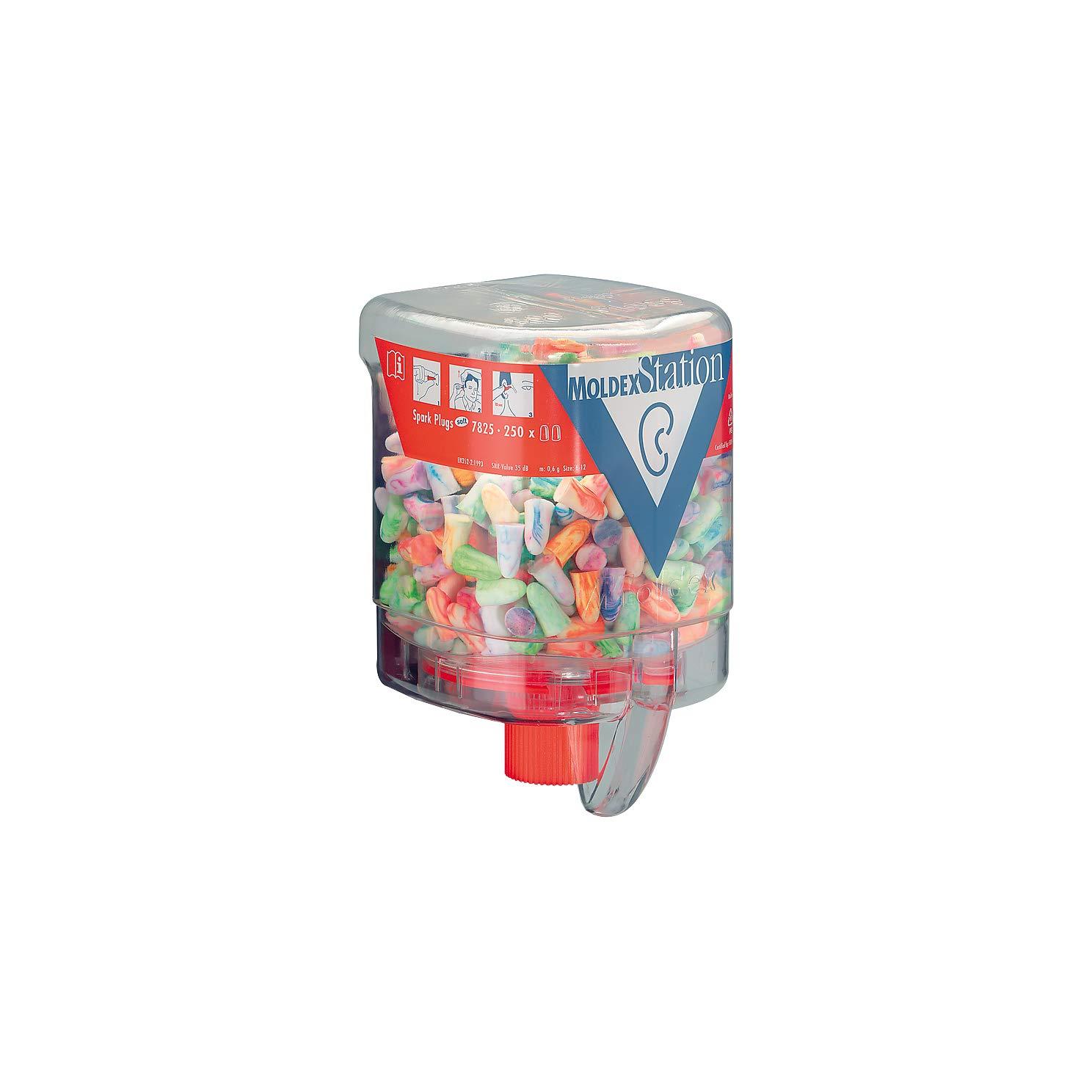 Dispensador de enchufe para orejas de estaci/ón Moldex peque/ño 250 tapones