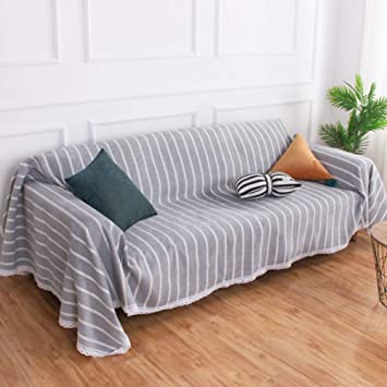 YHviking Algodón Slipcover,Simple Moderno Máquina Lavable Funda de sofá,Anti-Arrugas para