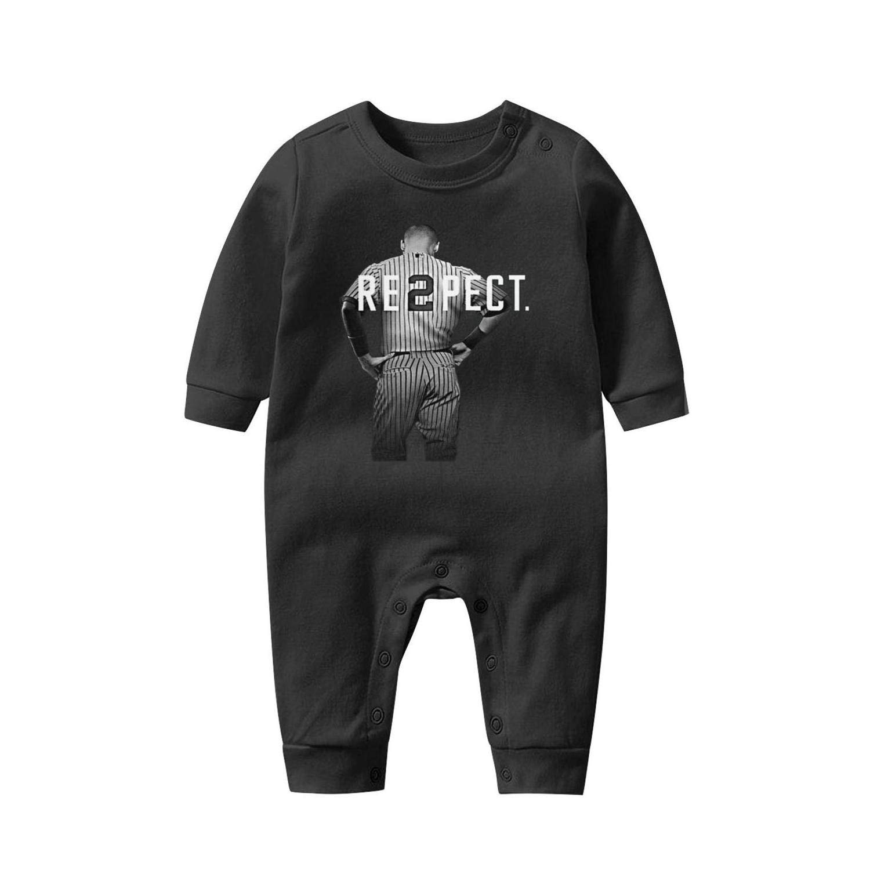 Asik Cute Unisex Boys Girls Baby Onesie Organic Tshirt Long SleeveJumpsuits 0-12 Months