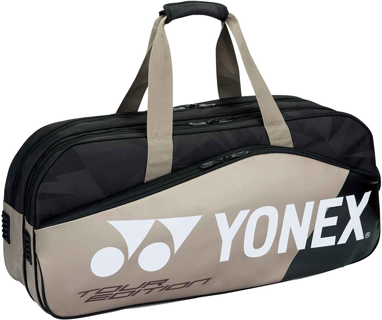 ヨネックス バッグ テニス トーナメントバッグ ラケット2本収納 【返品不可】 (国内正規品) B07BNJW94Tプラチナ