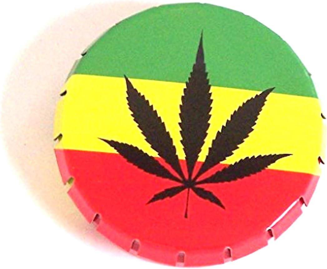 click clack caja de almacenaje con cierre hermético de hojas para hierbas de la bandera de Jamaica inferior de tela cenicero tabaco de hierbas: Amazon.es: Hogar