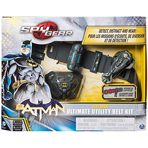 Spy Gear - Batman Ultimate Utility Belt Bundle