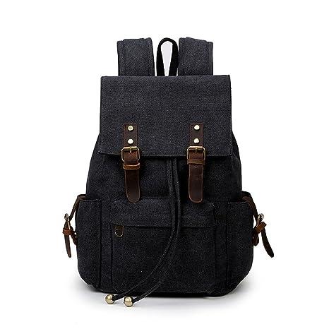 Vintage Retro Men Woman Boy Girl Casual Canvas Backpack Rucksack Laptop  Travel Satchel School Sports Hiking 5d565aeebec08