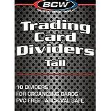 10 Ct. Premium BCW Tall Card Dividers