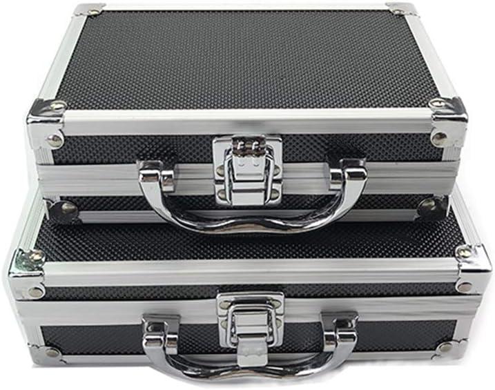 110 55mm Mayyou Malet/ín de Aluminio para Herramientas peque/ño con Bloques de Espuma Size 180
