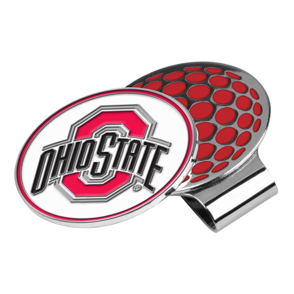 LinksWalker NCAA Ohio State Buckeyes Golf Hat Clip with Ball Marker