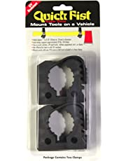 "Quick Fist Original Clamp for Mounting Tools and Equipment 1""-2-1/4"" Diameter (Pack of 2)"