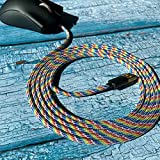Paracord Mouse Cable for Gaming Mice