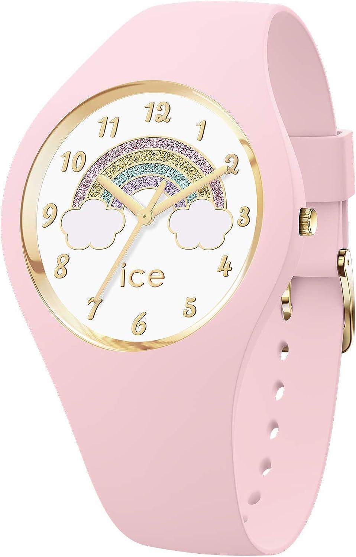 Ice-Watch - ICE fantasia Rainbow pink - Reloj rosa para Mujer con Correa de silicona - 017890 (Small)