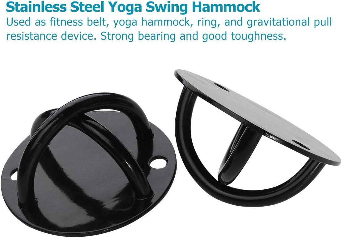 WINOMO 2x Yoga Hacken Swing Haken Deckenhalterung Schaukel Hängesitz Halterung