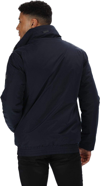 Hombre Regatta Ralston Waterproof /& Breathable Taffeta Lined Sherpa Fleece Collar Trucker Jacket Chaqueta Aislante Impermeable