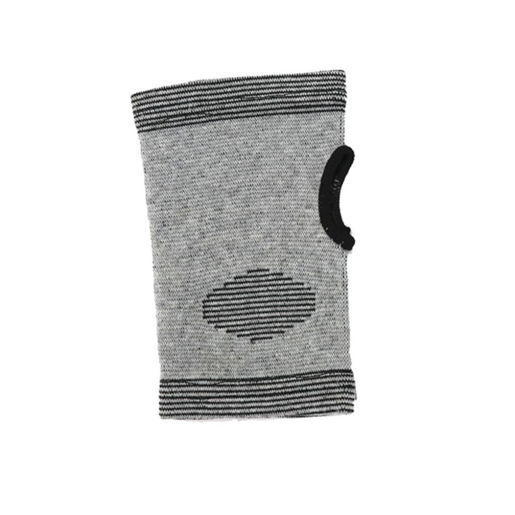 feccile s-ports & fit-ness手首手根管サポート竹チャコール圧縮ブレーススリーブ、1pcs   B07D6LD96S