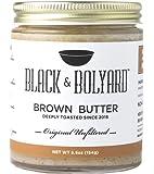 Black & Bolyard Original Unfiltered Brown Butter - Non-GMO, Sugar-free, Grass-fed Butter - Caramelized & Seasoned with Sea Salt - Gluten Free Ghee Butter/Clarified Butter Alternative - 5.5 Ounces