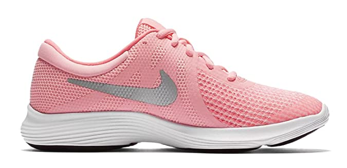 Nike Revolution 4 (GS), Scarpe da Trail Running Donna, Rosa (Arctic Punch/Metallic Silver 600), 37.5 EU