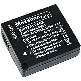 Maxsimafoto - Battery for Panasonic Lumix DMC-GF3, GF5, GF6, GX7, LX100, TZ80, TZ81, TZ100 Compatible with DMW-BLG10, DMW-BLG10E.