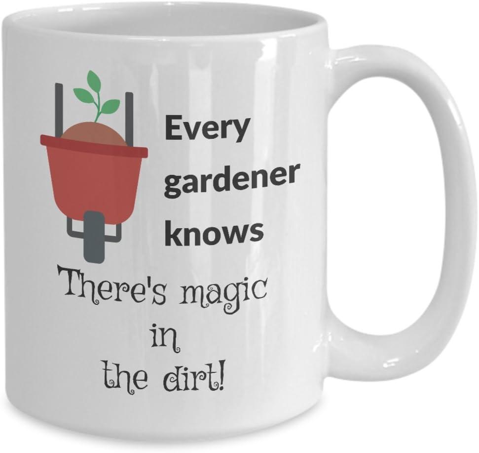 Amazon Com Garden Mug Every Gardener Knows Funny Gardening Coffee Mug 15oz Kitchen Dining