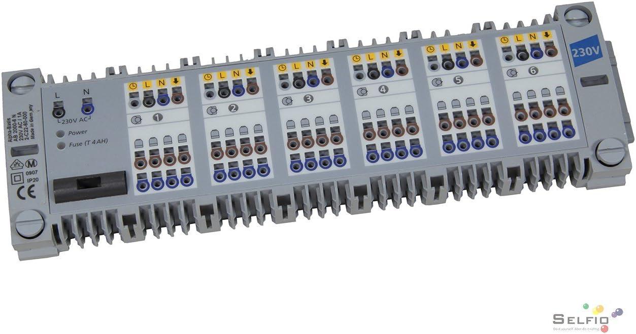 Reglermodul f/ür Modulanschlussleiste Alpha Basis 24V