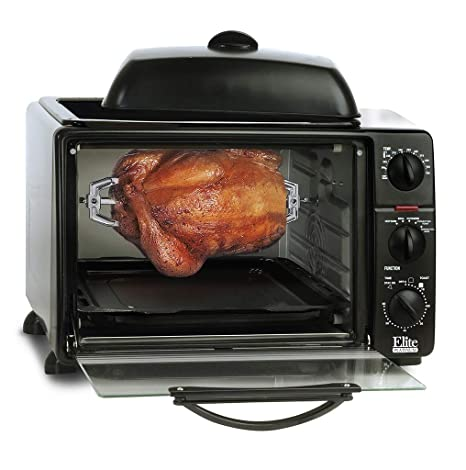 Amazon.com: Elite Platinum 23-liter tostador horno con asado ...