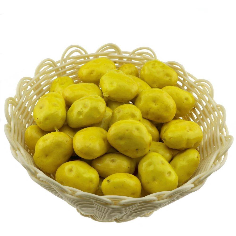 Gresorth 30 PCS MINI Size Artificial Potato Fake Potatoes Home Kitchen Decoration