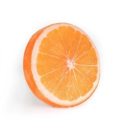Daeou Cama para Mascotas Frutas sandía cojín Kennel diámetro 33cm Grosor 4,5 cm