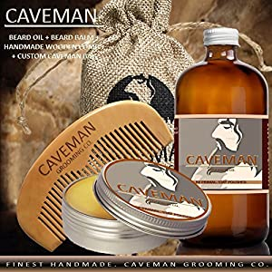 Win A Free Caveman Beard Oil and Beard/Mustache Balm Wax
