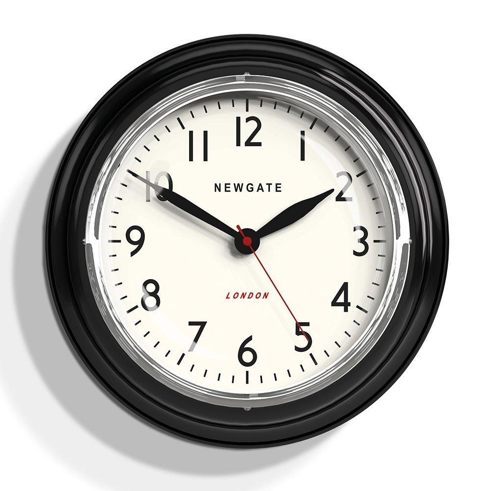 Amazon.com: Newgate Mini Cookhouse Kettle Wall Clock Black: Home & Kitchen