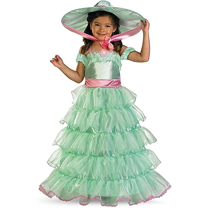 Victorian Kids Costumes & Shoes- Girls, Boys, Baby, Toddler Disguise Southern Belle Costume $15.43 AT vintagedancer.com