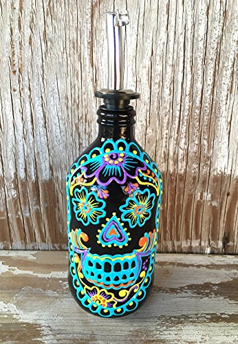 Colorful and bright Sugar Skull Dispenser