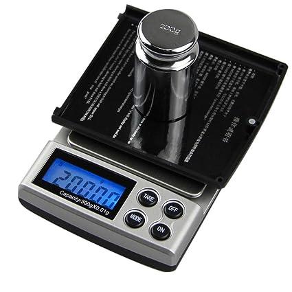 Amazon.com: HighPlus Gram Scale 1000g/0.1g Digital Scale Mini Pocket Jewelry Scale: Kitchen & Dining