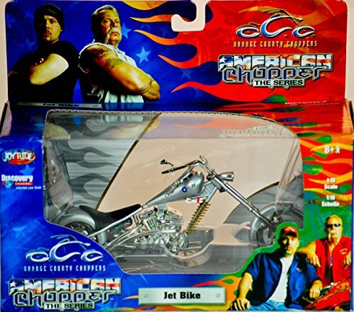 2004 - RC2 Brands / ERTL / Joy Ride - Orange County Choppers - American Chopper The Series - Jet Bike - 1:18 Scale - Die Cast Metal - 1of 9 in Series - New - MIB - Limited Edition - Collectible