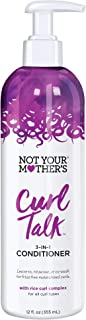 product image for Not Your Mothers Curl Talk Conditioner 3-In-1 12 Ounce Pump (355ml)