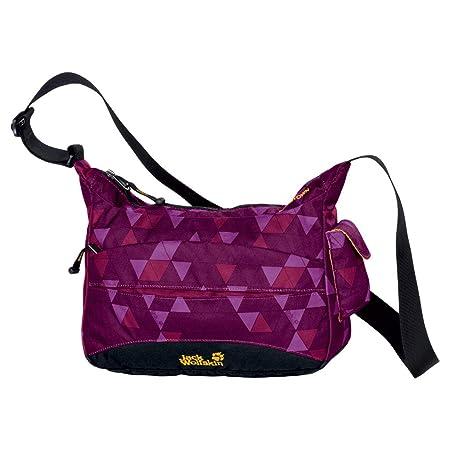 Jack Wolfskin Boomtown Lila Damen Handtasche Tasche Schultertasche