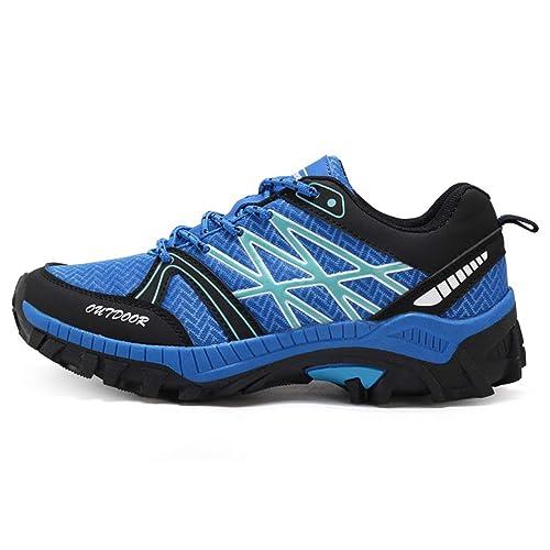 Senderismo Exterior Botas de Trekking Hombre Escalada Zapatos Deportivos a Prueba de Agua: Amazon.es: Zapatos y complementos