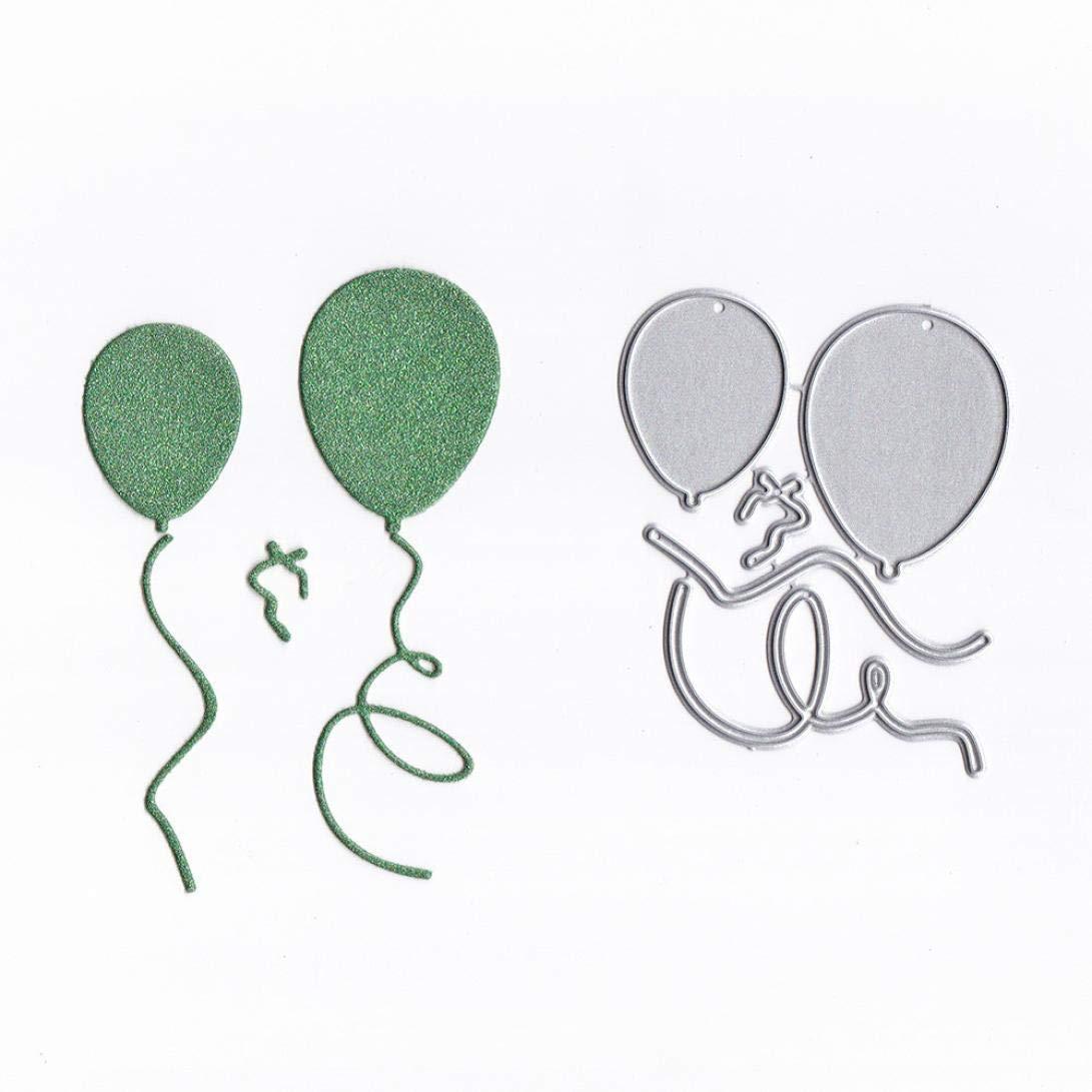 Bellelove Mode Scrapbooking Nouveaux Dessins Animé s Ballon Papillon Mode Fille Flocon De Neige Dé coupage En Mé tal Matrices Pochoirs Album DIY Carte Papier
