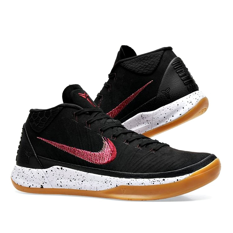 Nike Kobe A.D. Mid Basketball Shoes Kobe Bryant Black/Sail-Gum Light Brown  New