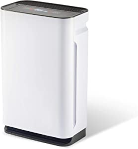 CO-Z True HEPA Air Purifier for Home Office, 6 in 1 Air Cleaner with True HEPA Filter, UV Light Sanitizer, Humidifier, Up to 860 sq ft Large Room Air Purifier for Smoke, Odor, Dust, Pet Dander, Mold