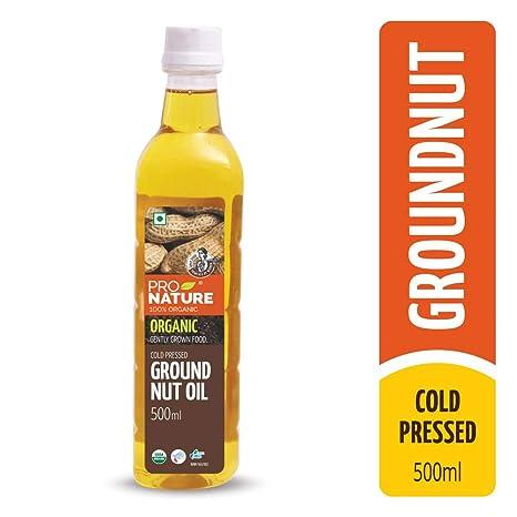 Pro Nature 100% Organic Groundnut Oil 500 ml