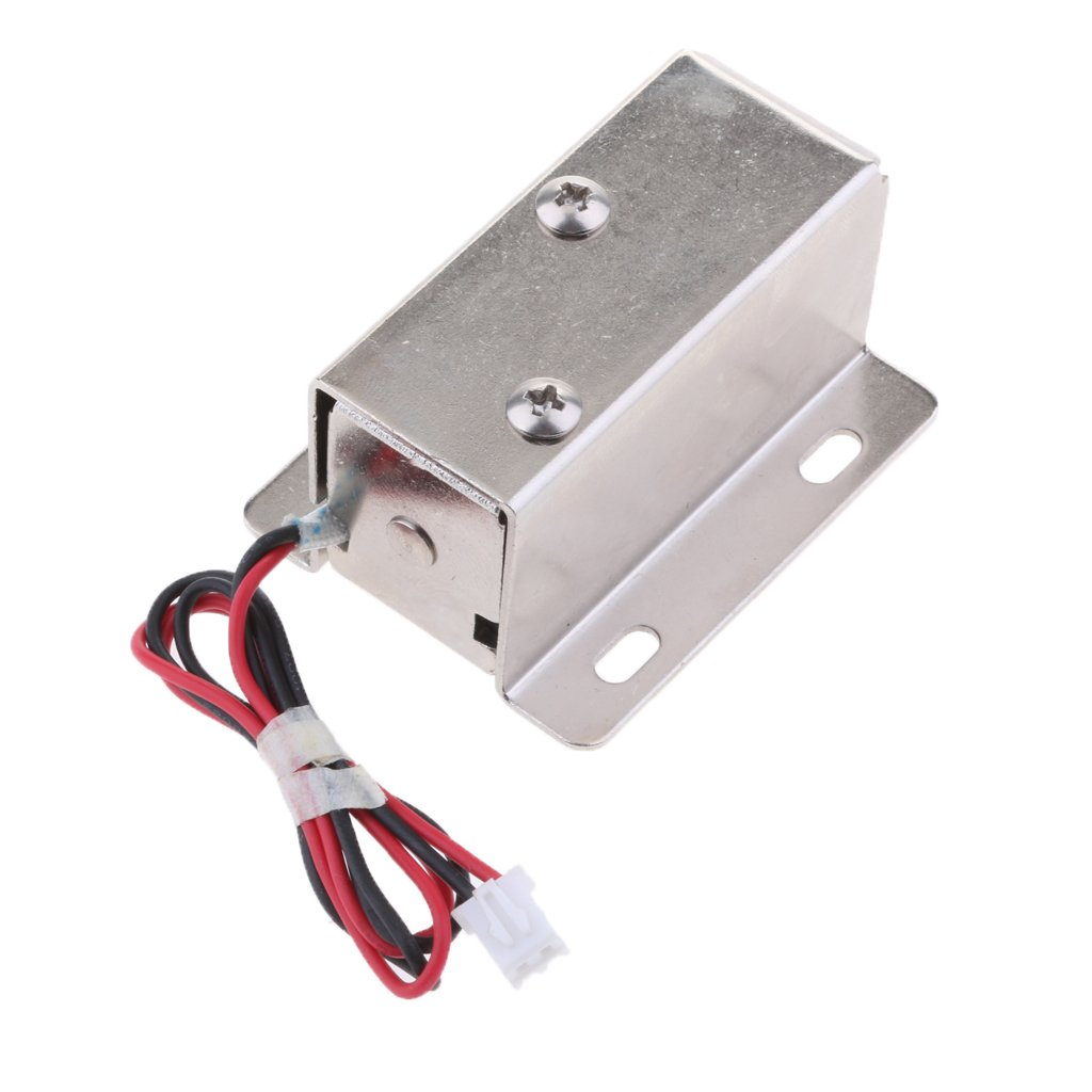 MagiDeal Universal Electric Lock 12V 1.1A Door Access Control Cabinet Gate Locker by Unknown (Image #6)