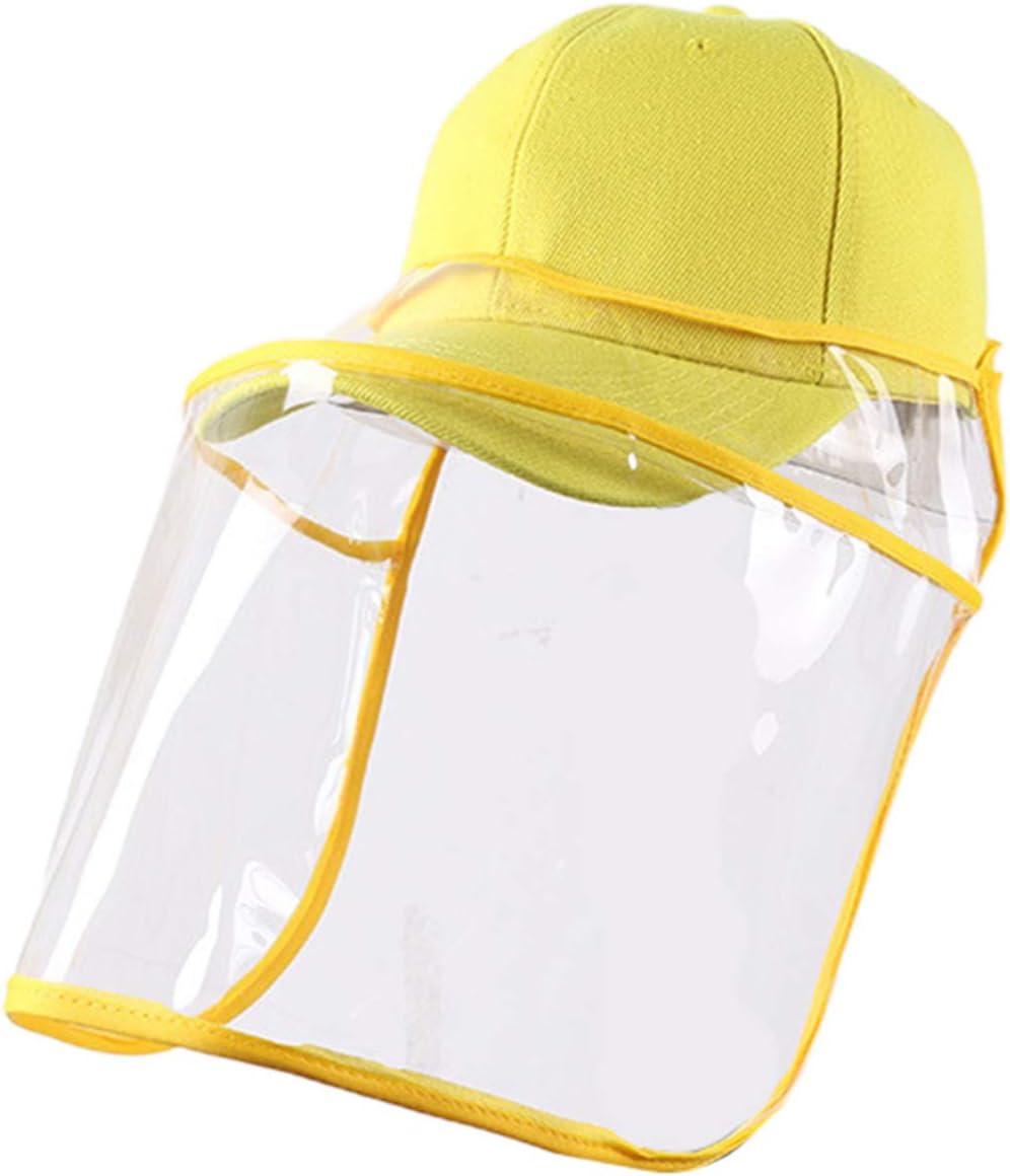 EXCEART 2 Piezas de Sombrero Protector de Protección Facial Protector Contra Salpicaduras Sombreros de Pescador para Uso en Primeros Auxilios en El Hogar O Al Aire Libre Suministro de Color Aleatorio