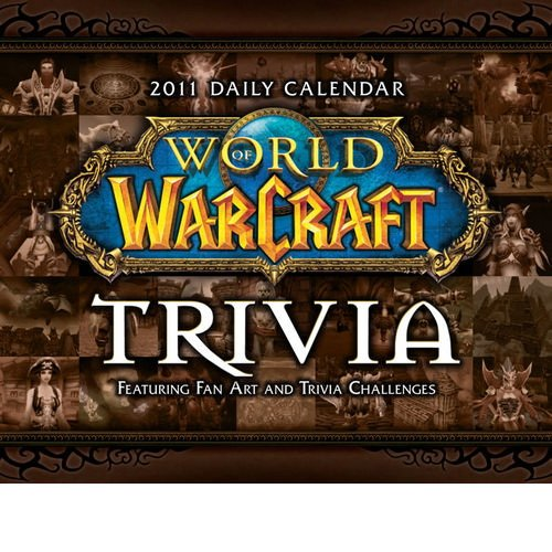 World of Warcraft Trivia Page-A-Day Daily Boxed / Desk Calendar 2011