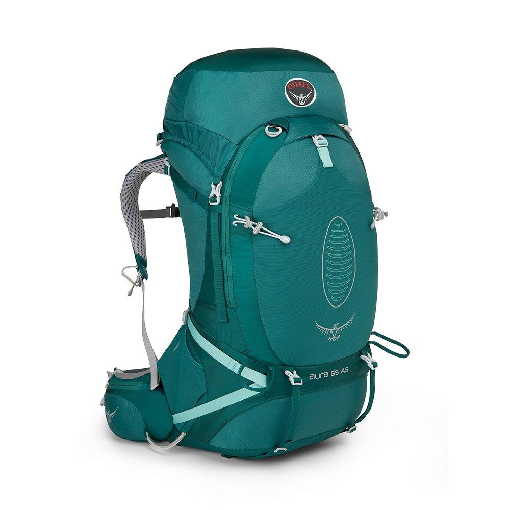 Osprey Mochila para Mujer Aura AG 65, Color Rainforest Green ...