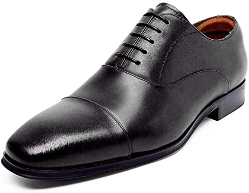 Amazon.com: DESAI Zapatos de vestir de cuero Oxford para ...