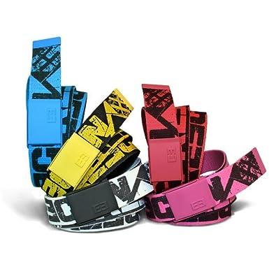 400630144d47 Freegun ceinture homme textile réglable réversible - CFTG-1017 - 120 cm,  Rose